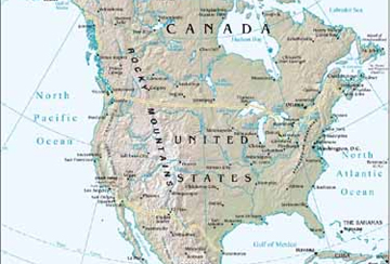 North America - A collection of North America images at Pics4Learning.